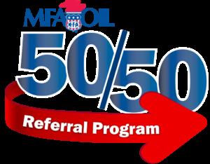 50/50 Referral Program