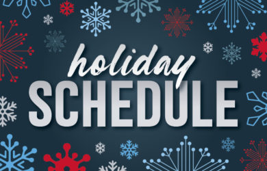 MFA Oil Holiday Schedule 2020