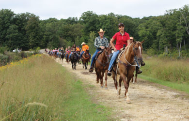 David and Brenda Reed have raised nearly a quarter of a million dollars for St. Jude Children's Research Hospital by hosting annual trail rides for nearly 20 years.