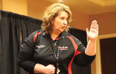 Sarah Fuehring has taught self-defense and safety training to nearly 3,000 women and children in Missouri.