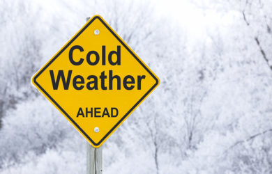 Cold Weather Ahead - Winterize Your Equipment